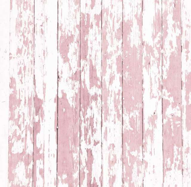 Pink And White Wood Photography Background Digital Printed