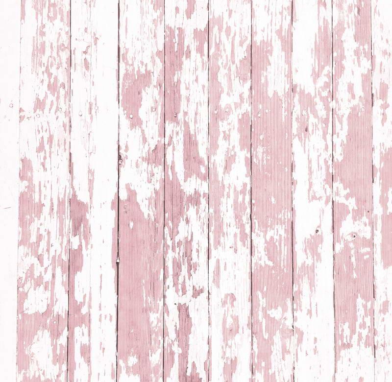 Roze en Wit Hout Fotografie Achtergrond Digitale Gedrukt