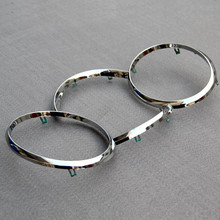 1 Piece Dashboard Decorative Ring ABS Chrome Trim Auto Parts Car Styling for Chevrolet Cruze Sedan Hatchback Accessories