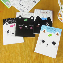 10 pieces/lot  New hot Cartoon mini notebook   Cat  notepad  diary book stationery creative notepad children gift  free shipping