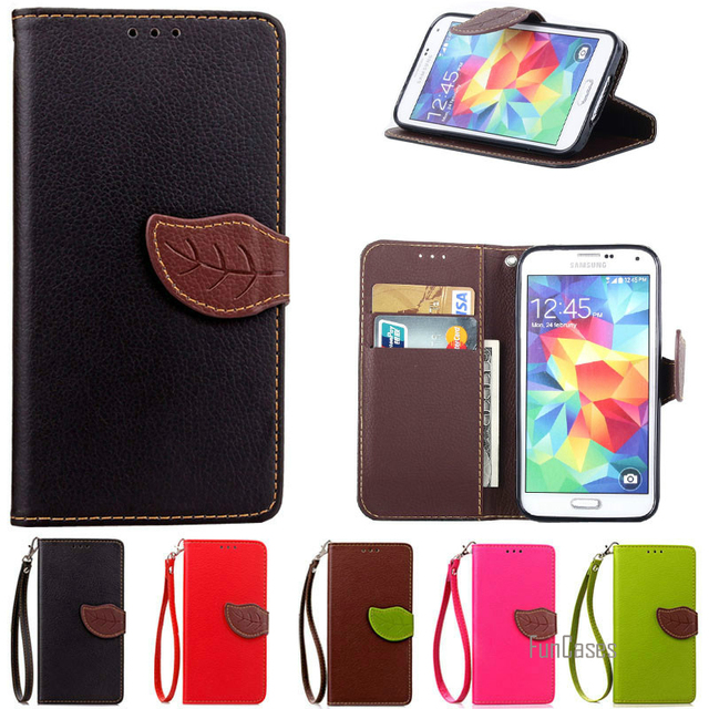 info for 02d5e 93ae0 US $6.46 |Colourful Case For Samsung S5 i9600 Luxury Flip Wallet Cover Case  For Coque Samsung Galaxy S5 Phone Case With Card Holder Stand-in ...