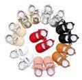 50 pairs Arco MaryJane Cuero Genuino mocasines de suela blanda Primeros Caminante Prewalkers Bebé Recién Nacido Cuna Marca zapatos de vestir para bebés