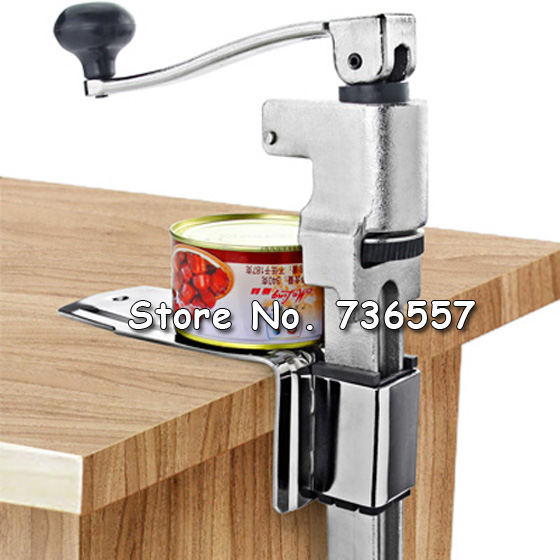 купить Restaurant Desk Style Opener Industrial Table Mount Manual Commercial Bottle Tin Opener Jar Opener Cooking Tool по цене 7632.04 рублей