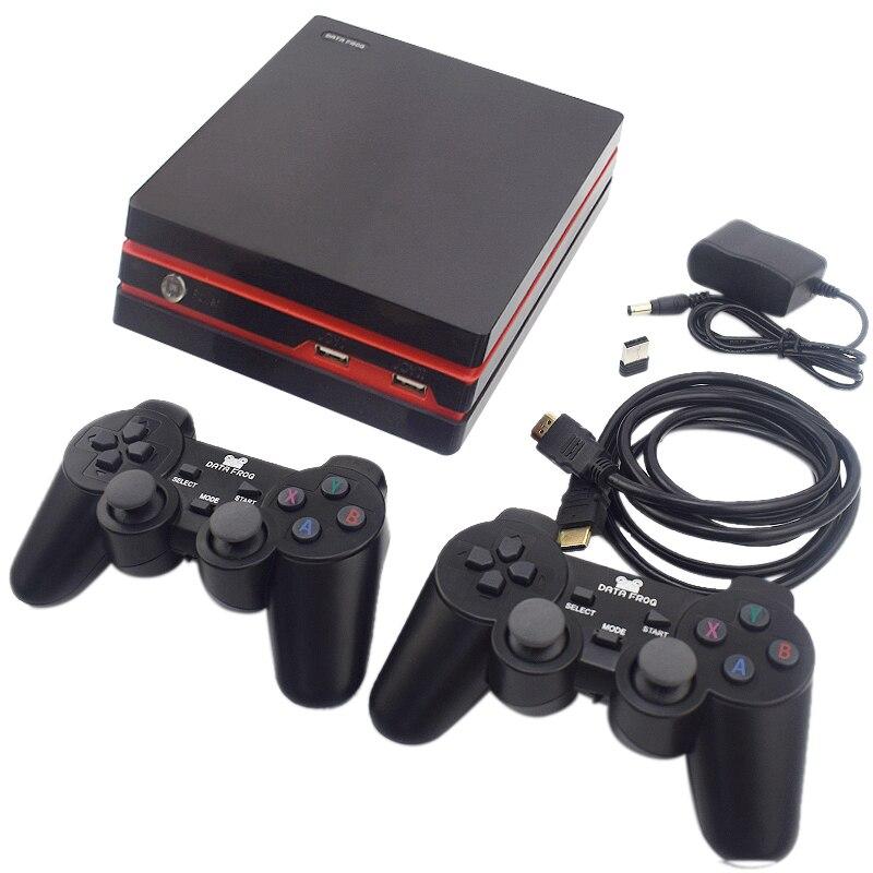 Data Frog Console de jeu vidéo rétro avec contrôleur sans fil 2.4G 600 Hdmi jeux vidéo classique pour Gba/Snes famille Tv rétro Gam