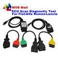 2016 Newest ForFiat ECU Scan Diagnostic Cables Adapters FiatECUScan + MultiECUScan ForFiat / Alfa Romeo / Lancia OBD2 Scanner