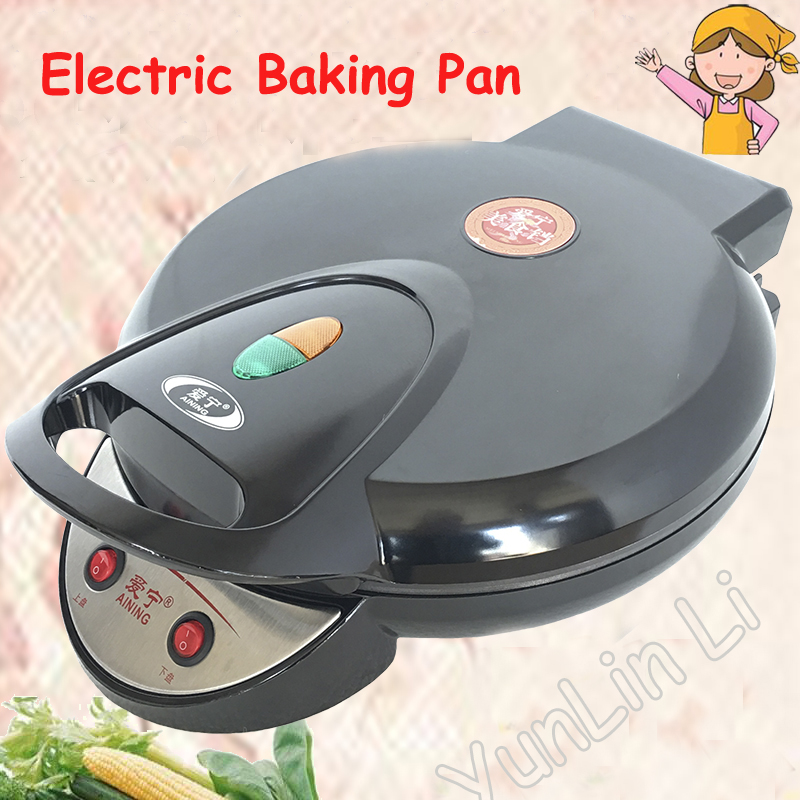 Electric Baking Pan 35cm Household Griddle Cake Machine Pizza Machine Pancakes Making Machine AN-6135A dekok square cake pan