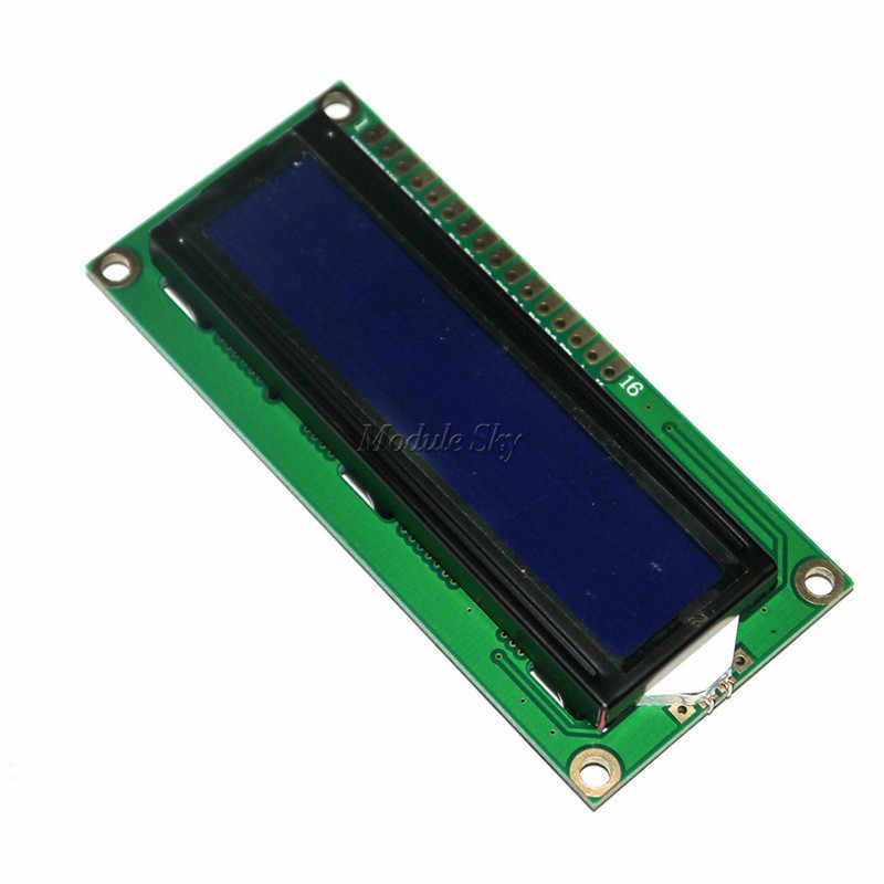 LCD1602 1602 3.3V Blue 16*2 Lines White Character LCD module 1602A For Raspberry Pi