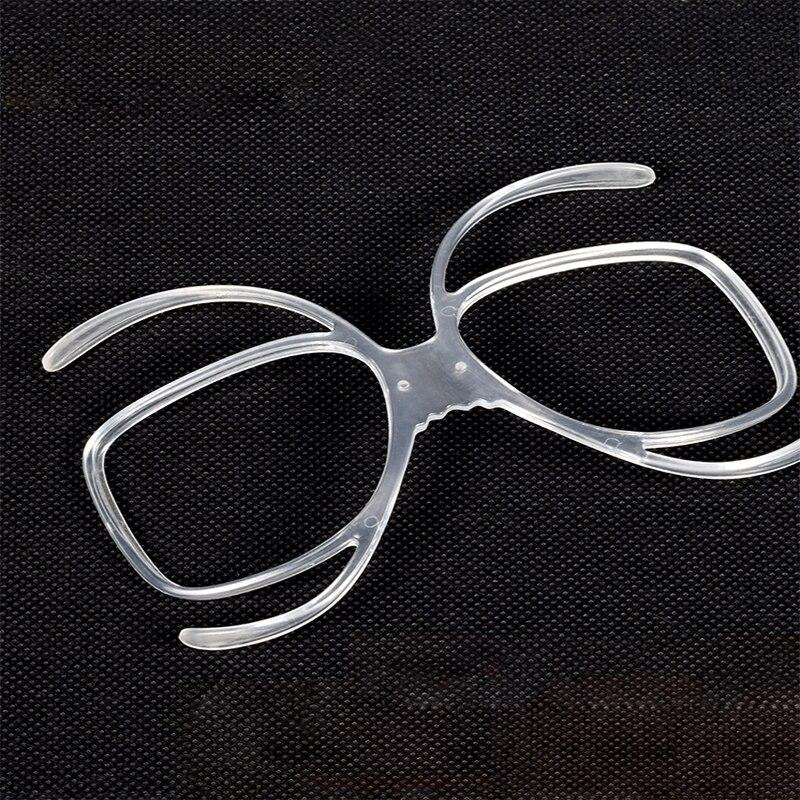Очки LOCLE для катания на лыжах и сноуборде, встроенная оправа для очков для близорукости, адаптер солнечных очков для близорукости