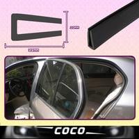 22mmx10mm Pillar Window Door Rear Quarter Panel Seal Strip U Channel Black Edge RV Trim Rubber