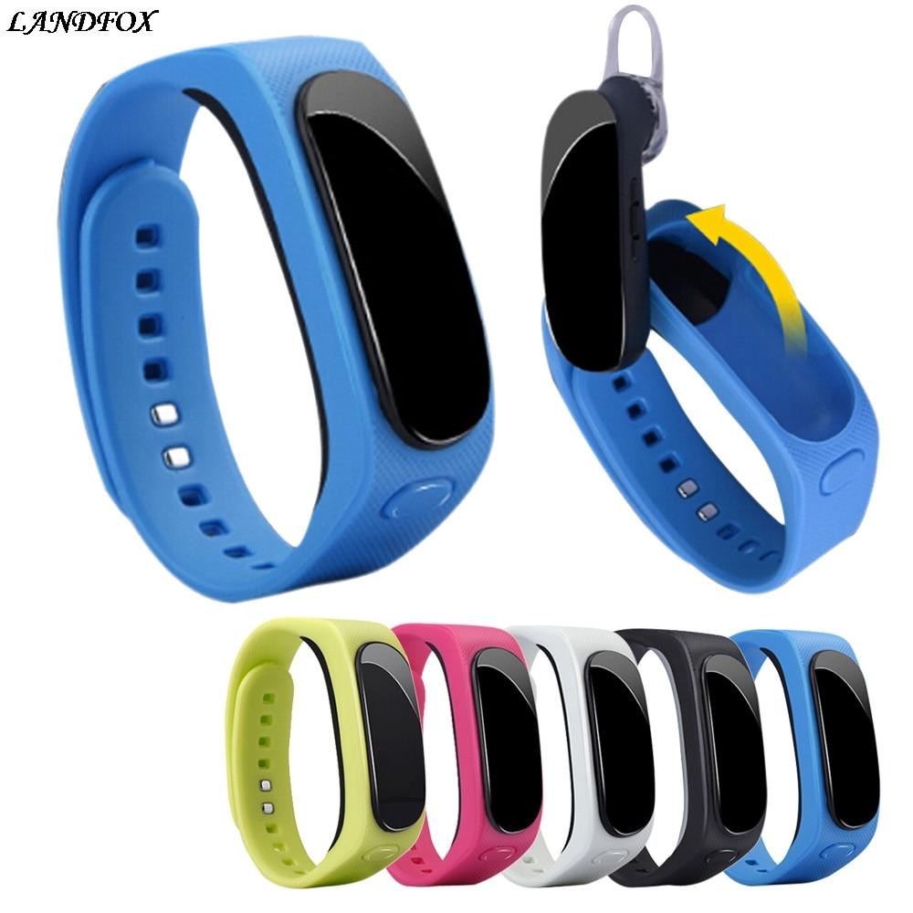 Smart Band B1 TalkBand Bluetooth4.0 for Band 2 Smart Wristband Headset Earphone Smart Wa ...