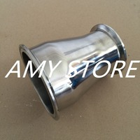 102MM To 76MM 4 To 3 Sanitary Ferrule Reducer Fitting SS304 To Tri Clamp NEW