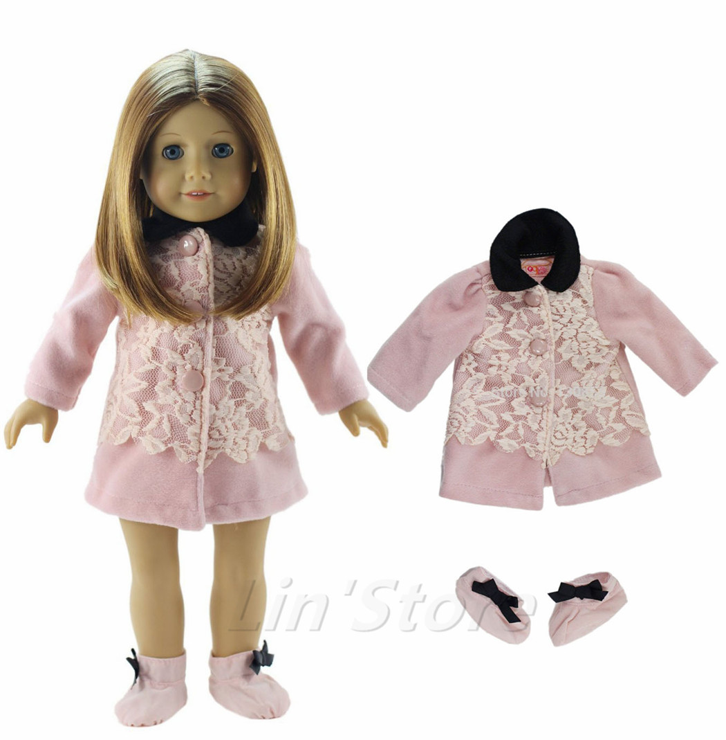 Us 8 99 2in1 Set Doll Clothes Coat One Pairs Shoes For 18 American Girl Doll In Dolls Accessories From Toys Hobbies On Aliexpress Com Alibaba