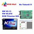 Mais novo Ktag V2.13 Unidade Principal Versão Mestre Sem Limites Simbólicos Firmware V6.070 Ktag K-Ferramenta de Programação tag ECU Para O Caminhão Do Carro trator