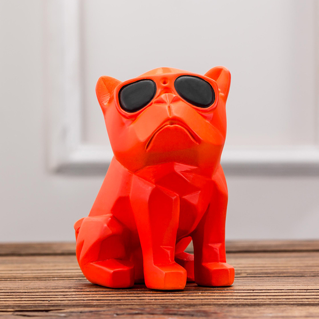 French Bulldog Shaped Figurine