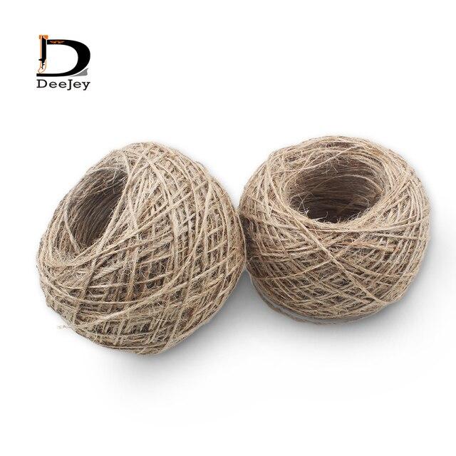 cuerda de camo natural de bricolaje etiqueta de colgar la cuerda en casa de la boda - Cuerda Caamo