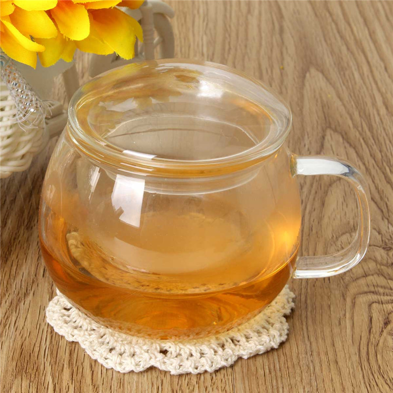 300ml New Arrival Handmade Cute Coffee <font><b>Cups</b></font> Tea <font><b>Cup</b></font> with Filter <font><b>Inside</b></font> Flower Blooming Loose Tea Infuser Teacup