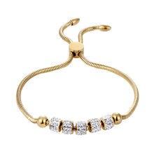 Высокое качество красивый браслет из пяти кругов с цирконием