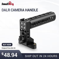 SmallRig DSLR Camera Handle Universal Hand Grip NATO Handle Kit Top Handle with 70mm NATO Rail and a Cold Shoe on the Top 2003