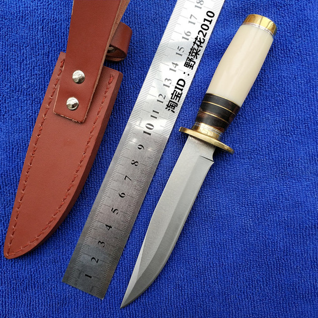 US $32 91 11% OFF|PSRK 100% Hand Forged High carbon Steel Small Straight  Knife Camping Hunting knives Outdoor Survival Equipment Arts and Crafts-in