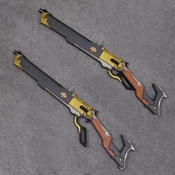 Overwatch Ashe arma el Viper Cosplay Replica Rifle Prop