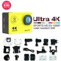Mini action camera H9 series HDMI interface USB2.0 30m waterproof 4K 30/25fps max 14mp WIFI professional digital sport camcorder