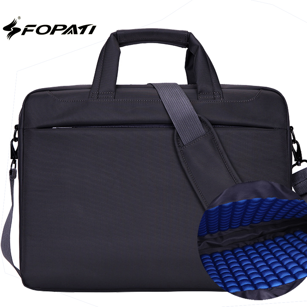все цены на 12 13 14 15 15.6 17.3 inch Laptop Bag Waterproof Computer Bag handbag Notebook Case Unisex Briefcase Shoulder Messenger Bag онлайн