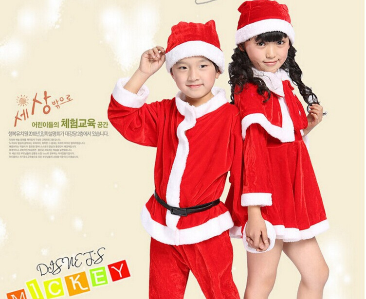 Christmas Children Clothing Christmas clothes dress jumpsuit+cap 2-piece Baby Boys Santa Claus Christmas Warm Kids Clothes inflatable cartoon customized advertising giant christmas inflatable santa claus for christmas outdoor decoration