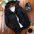 Новый 2016 марка пальто мужчины плюс размер 5xl тепловой утолщение хлопок мягкие парки мужчины костюм для очень холодной зимой chaqueta hombre/MF18