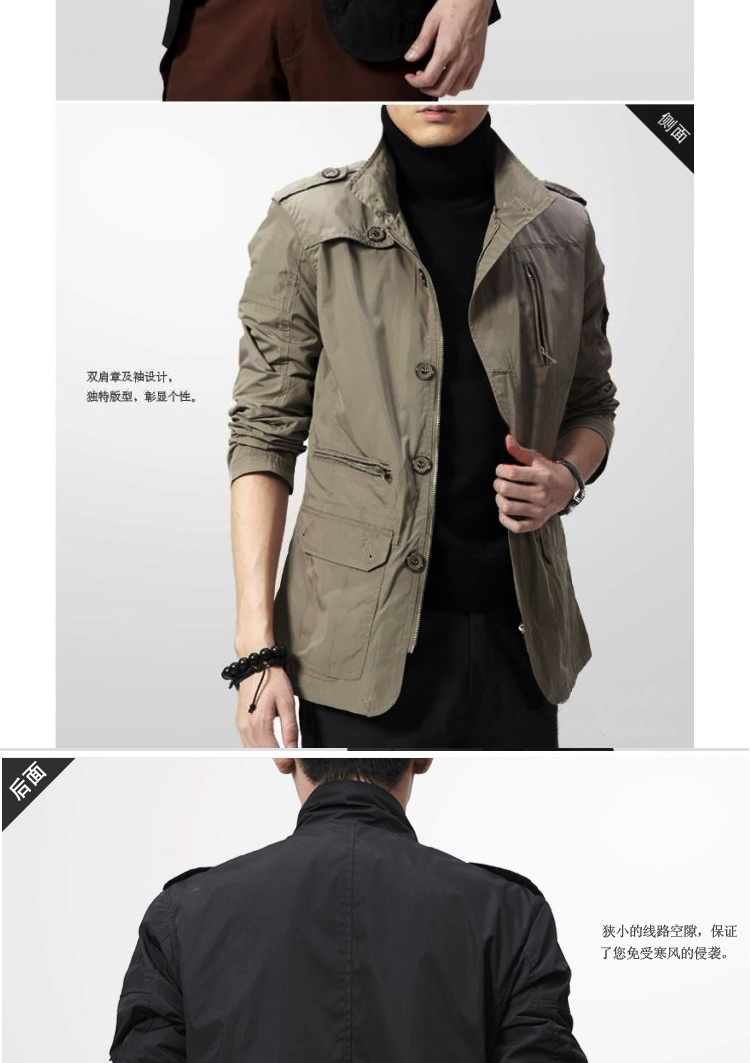 2019 Winter Men Jackets and Coats Leisure Windproof Thick Warm Jacket Men's Long Trench Coat Parka Clothing Drop Shipping