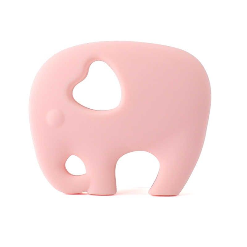Manter & grow Elefante Girafa Mordedor Mordedores de Silicone do Produto Comestível de Silicone Animal Chawing Presente Da Criança Brinquedos de Dentição Do Bebê Mordedor