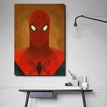 Modern Canvas Poster Superheros Picturse Animation Poster Wall Pictures For Bedroom,Kids Room Decorative Canvas Print(China)