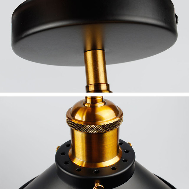 Industrial Style LED Ceiling Light