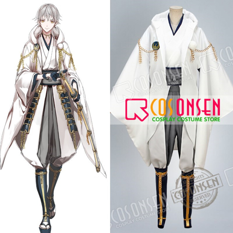 COSPLAYONSEN Touken Ranbu Tsurumaru Kuninaga Cosplay Costume Full Set All Size Custom Made