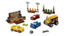 2017 Новые автомобили Juniors Thunder Hollow Crazy 8 Race Building Blocks Kids DIY Educational Brick Toys Совместимость с 10744 Lepin