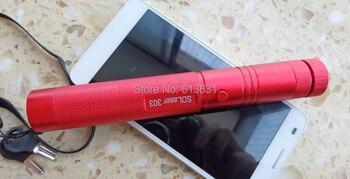 2020 Top Selling Caneta COOL Portable 532nm 300000m Can Burn Clack Match Camping Signal Lamp High Power Range 5000m