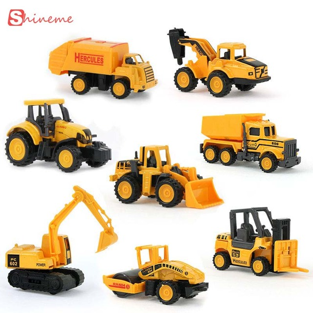 fashion boy toys cars mini construction vehicle engineering car