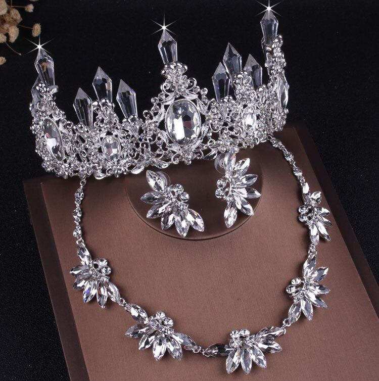 Crystal Leaf Bridal Jewelry...