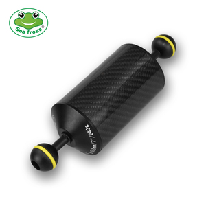 Image 1 - Carbon Fiber Floating Buoyancy Aquatic Arm Dual Ball Underwater Diving Photography Tray Accessory 240G To 600G Buoyancy Devices