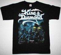 King Diamond Abigail Mercyful Fate Heavy Metal Gothic S 3XL New Black T Shirt Casual Plus
