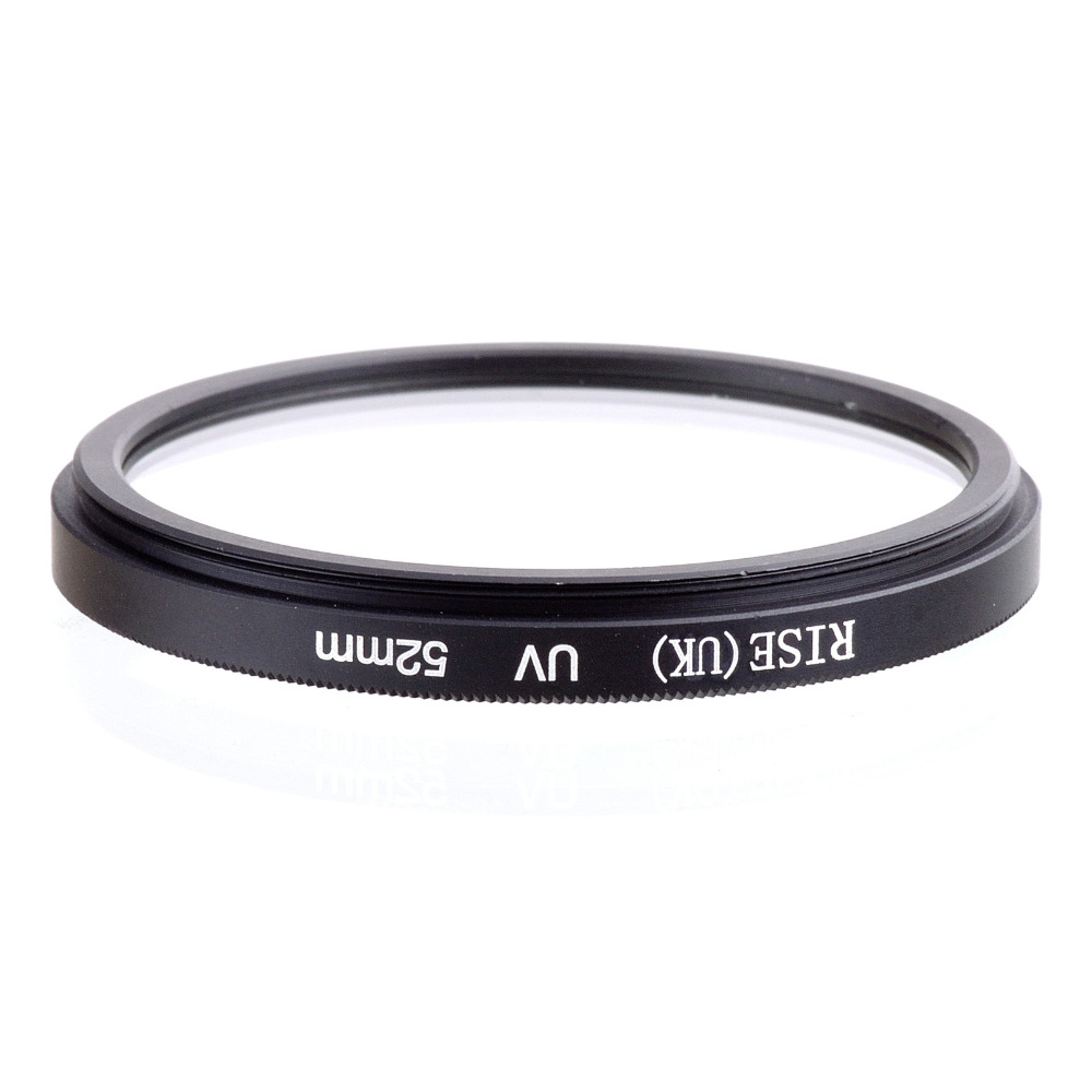 wholesale 10 pcs RISE(UK) 52MM UV Ultra-Violet Filter Lens Protector for DLSR camera 52m ...