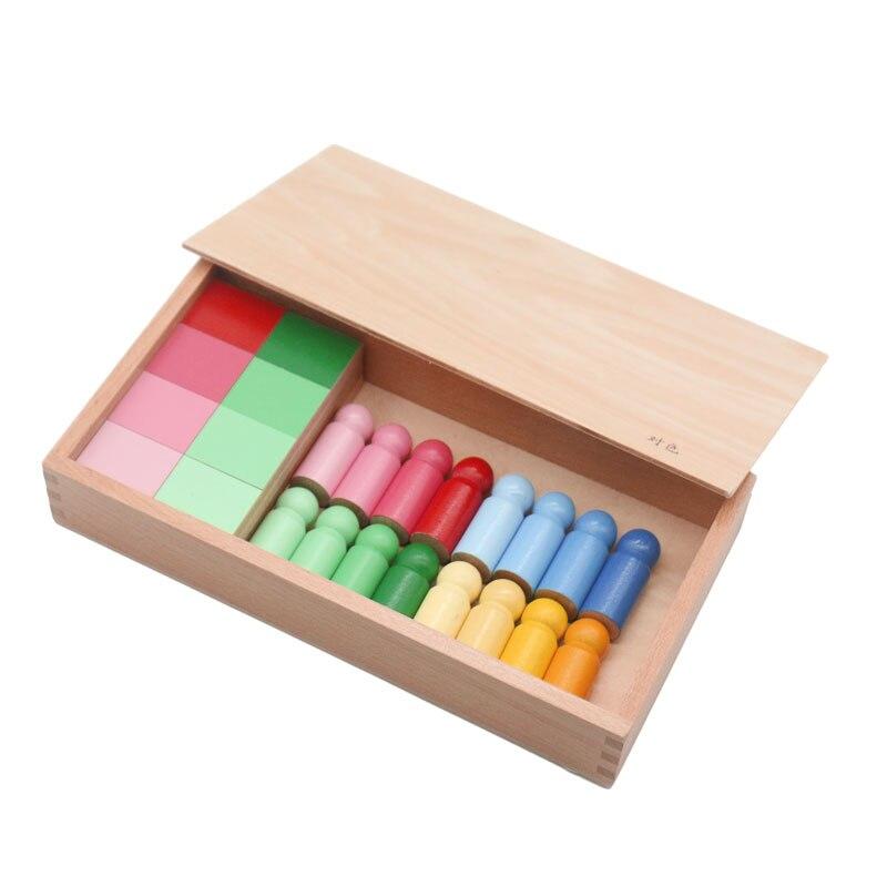 Montessori jouet enfants couleur ressemblance tri tâche apprentissage éducatif préscolaire début sensoriel Educativo jouets B2166T - 2