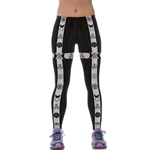 New 538 Sexy Girl leggins SpellBound Devil Eye Ouija Witchcraft Printed Polyester Elastic Fitness Workout Women Leggings Pants