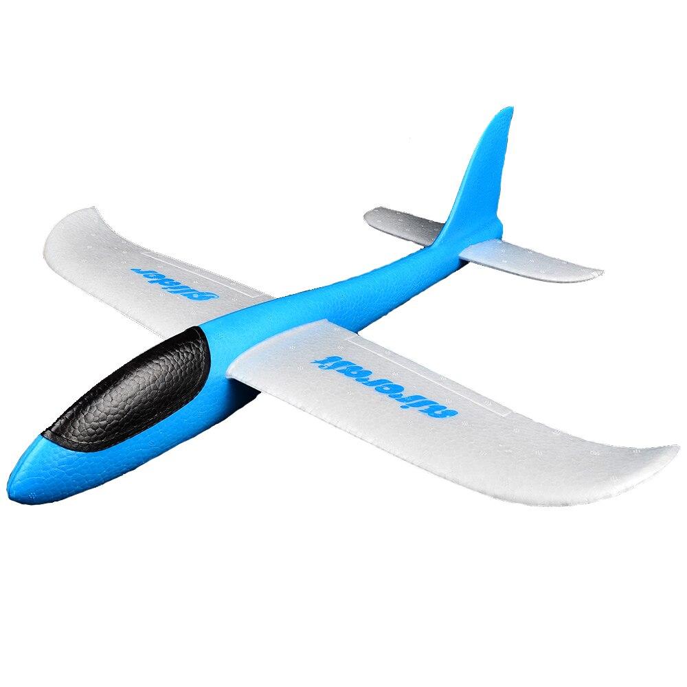 bohs mano lanzamiento planeador aviones lanzando inercial de espuma eva avin modelo de avin de juguete