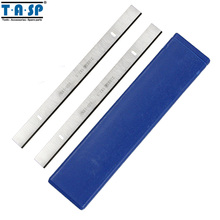 "TASP 5 Pairs 8 ""HSS ahşap planya bıçağı 210x16.5x1.5mm kalınlık planya bıçağı için ERBAUER 052 BTE"