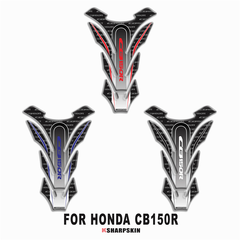 Motorcycle 3D Fuel Tank Pad Sticker Protective Decorative Decal For HONDA CB150R Tank Pad Stickers