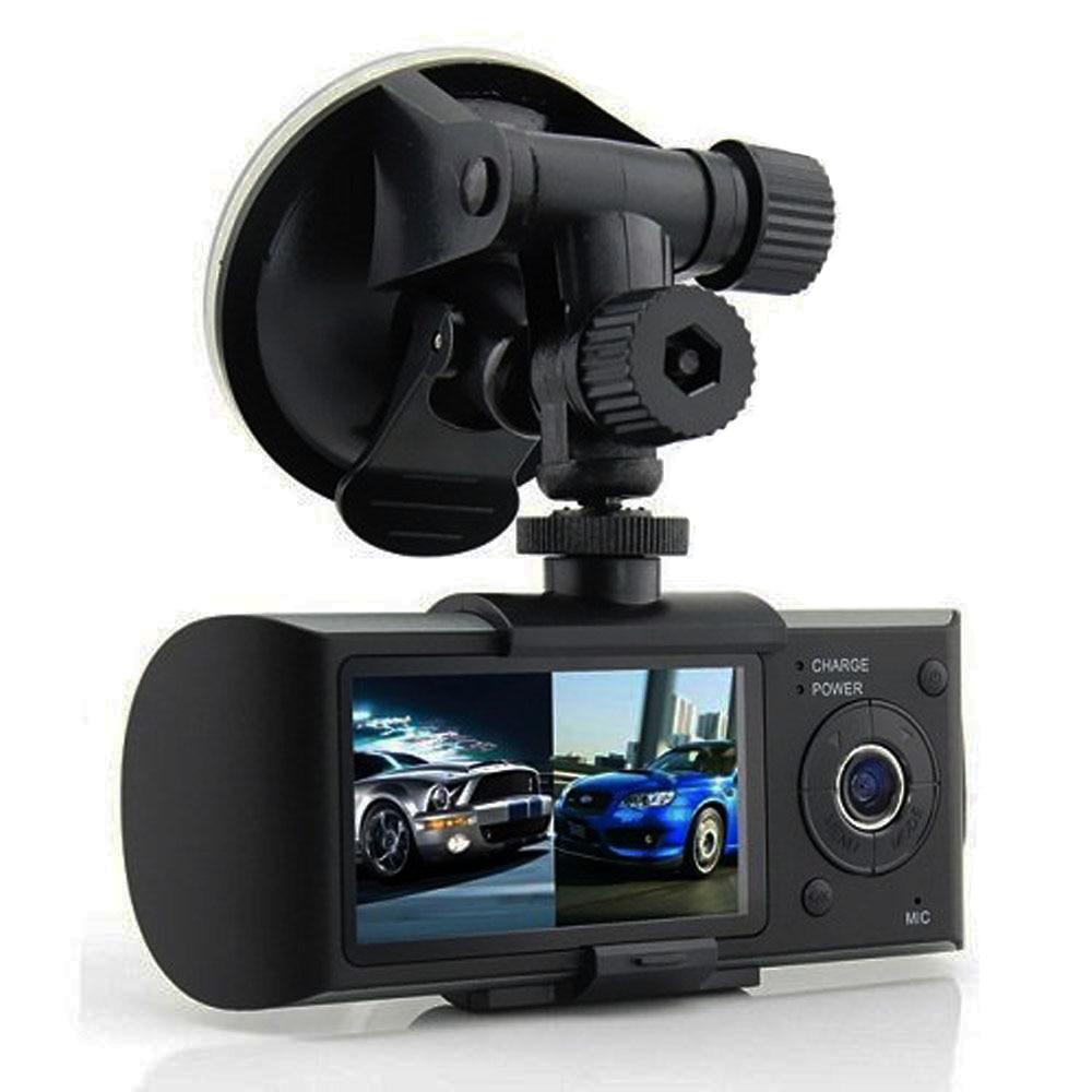 100 Original car dvr dual camera 2 7 TFT LCD Display with GPS and 3D G