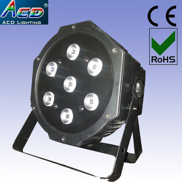 free shipping sale off 7X10W 4IN1 RGBA mulit color 70w led plastic house mini par 64 stage lighting 10pcs/fly case цена