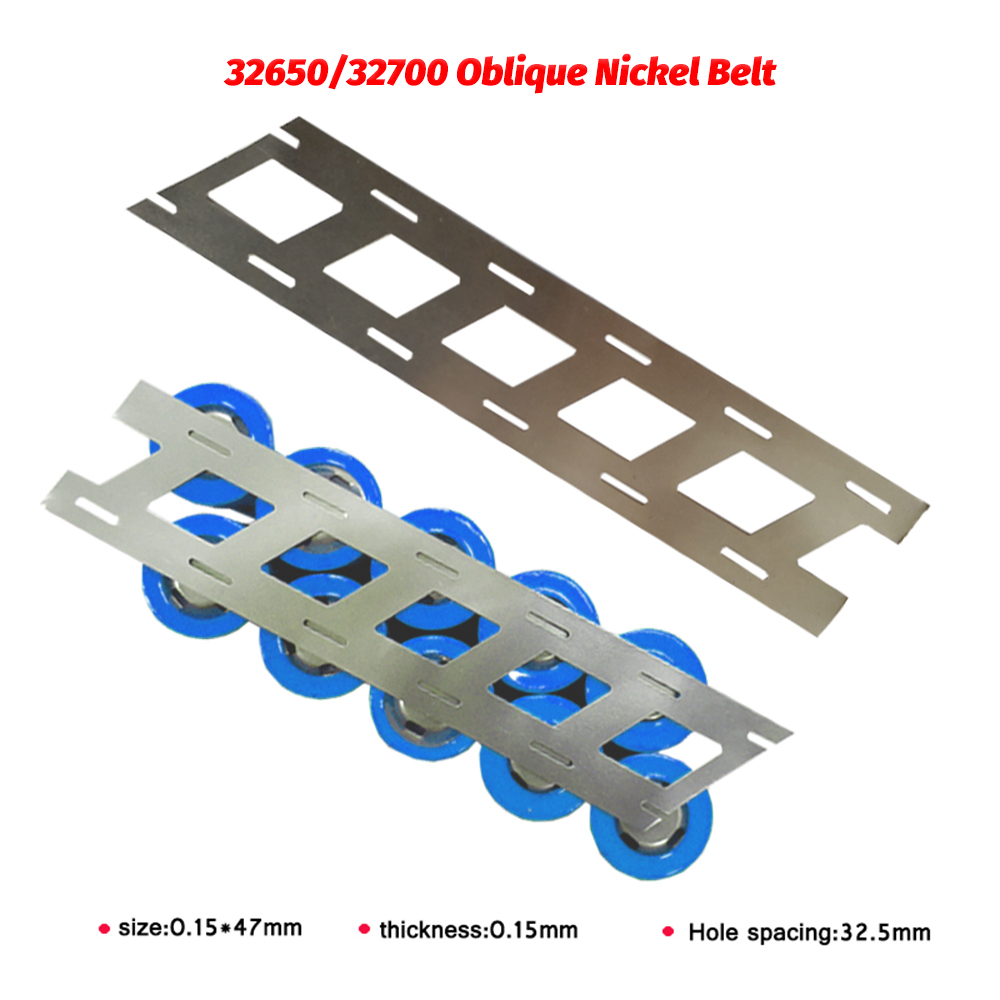 99.93% Oblique Row Pure Nickel Strip Lithium Battery Nickel Strip Used For 18650 Battery Connection Without Bracket Spot Welding