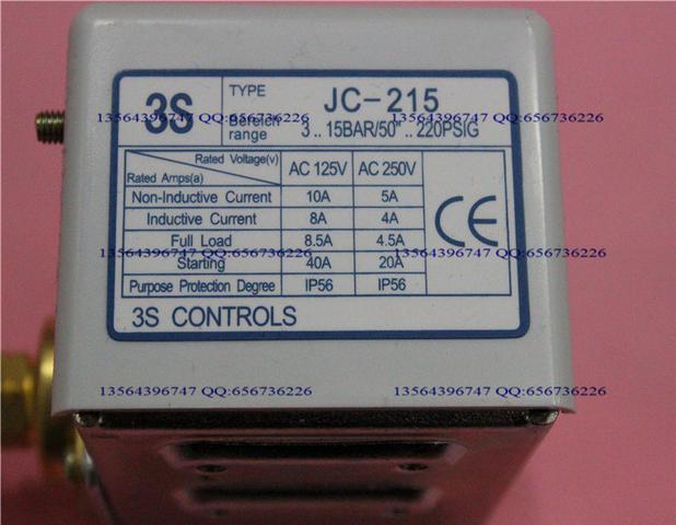 ФОТО 3s pressure switch single electro controller JC-215