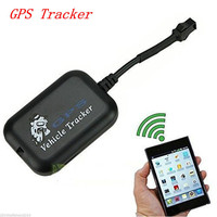 Motorcycle Electric Car Waterproof Anti Theft Tracker Precision GPS Locator Miniature Modern Style Black GT005